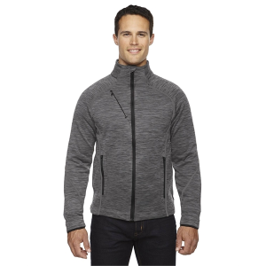 North End Sport™ Men's Flux Melange Bonded Fleece Jacket